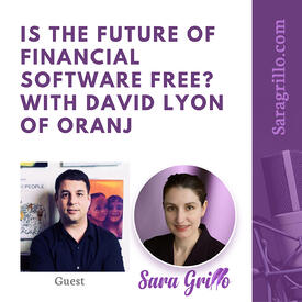 David Lyon Oranj on Sara Grillo Podcast