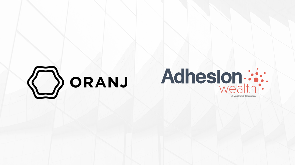 Webinar | Oranj + Adhesion Wealth Overview