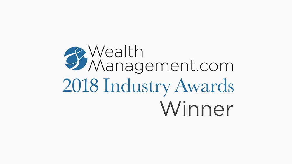 Oranj Wins 2018 WealthManagement.com Industry Award!